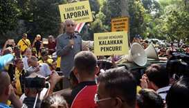Protest mounts over Malaysian PM's plan to redraw electoral map