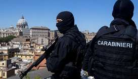Italian anti-terrorism police arrest Moroccan, investigate others