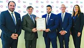 HIA first in Mideast to receive ISO 55001 certification