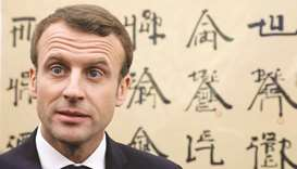 France's Macron unsure whether Trump will stick to Iran deal