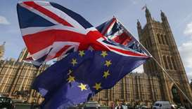 A year away from Brexit, Britons' views remain as entrenched as ever