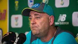 Lehmann resigns as disgraced cricket trio return to Australia
