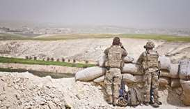 Two coalition personnel killed by explosive device in Syria
