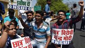 Students protest leak as India sets new dates for exams