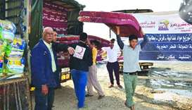 Qatar Charity's relief reaches 700 Syrian refugees in Lebanon