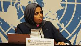 HE Lulwah Rashid al-Khater, official spokesperson for Qatar's Foreign Ministry