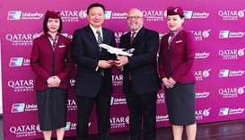 Qatar Airways expands partnership with UnionPay International