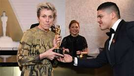 Man accused of stealing Frances McDormand's Oscar arrested