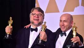 'Shape of Water' wins big at Oscars on activism-fueled night