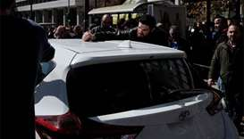 Greek taxi drivers protest against Uber 'invasion'