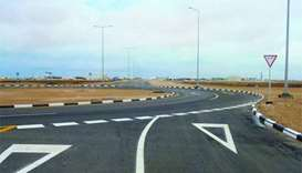 Ashghal completes roads to truck park in Al Shamal