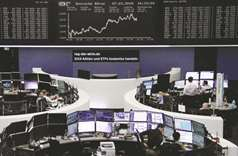 Europe stock markets regain early losses; Wall St drops