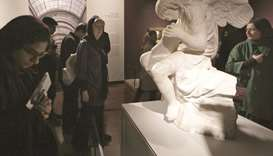 Iranians welcome Louvre show