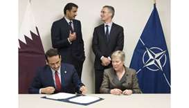 Qatar, Nato sign agreement on military co-operation