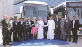 Domasco delivers 37 Volvo buses to MBM Transport