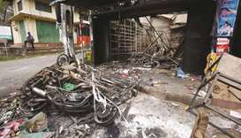 Fresh arson attacks in Lanka despite emergency laws