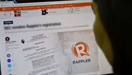 Philippine agency files complaint accusing news site of tax-dodging