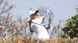 Larrazabal jolted into action, Grillo leads at Indian Open
