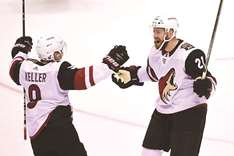 Stepan's late goal lifts Coyotes over Canucks