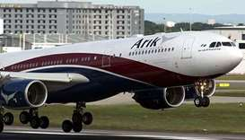 Nigerian plane makes emergency landing in Ghana