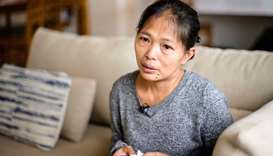 Baby Jane Allas, a 38-year-old mother of five Filipina domestic worker who was sacked after she was