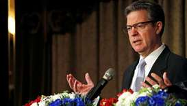 US Ambassador for religious freedom, Sam Brownback