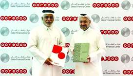 Ooredoo signs MoU with Qatar Financial Centre