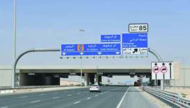 With the new signage programme, motorists will now have enough time and clearer directions to take t