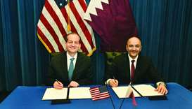 Qatar, US sign MoU on co-operation in labour reform