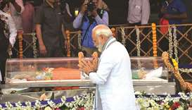 Parrikar cremated with full military, state honours