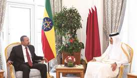 Ethiopian PM's visit to Doha enhances stability in the Horn of Africa: envoy
