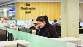 Jia Naqvi, student at Northwestern University in Qatar, interning at the Washington Post in Washingt