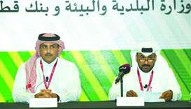 MME and QDB officials speak at the launch of the new initiative.