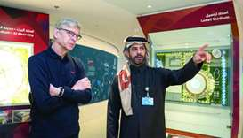 Wenger praises Qatar's preparations for 2022 World Cup