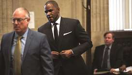 EMBATTLED: R&B star R Kelly