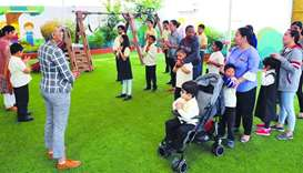 HOPE Qatar scripts success story in uplifting specially abled children