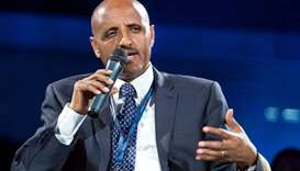 Ethiopian Airlines Chief Executive Officer Tewolde Gebremariam