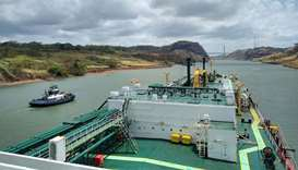 The passage through newly expanded Panama Canal allows vessels to shorten their voyage by about 13,0