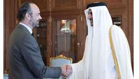 Amir meets French PM