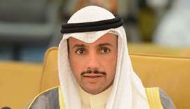 Speaker of the Kuwaiti National Assembly Marzouq Ali al- Ghanim