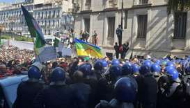Million protesters march against Algeria's Bouteflika