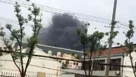 Blast at electronics factory in east China