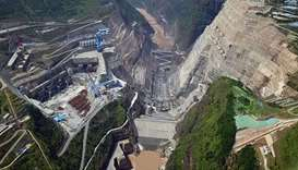 China begins construction of 2.24-GW hydropower station