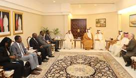 Advisory Council, African Parliamentary Union sign MoU