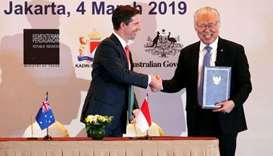 Indonesia signs free trade deal with Australia