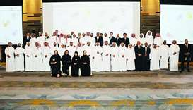 Participants and senior officials at Nakilat's annual forum