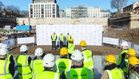 Qatari Diar kicks off Chelsea Barracks project's phase IV in London