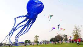 The festival has also been a hit online- Kite festival, Aspire Zone