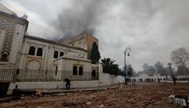 Algeria museum vandalised during protests: ministry