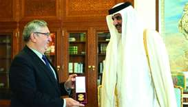 Amir honours envoys of Turkey, Ecuador